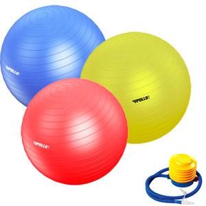 Apollo Stability Gym Swiss Ball Set