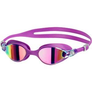 Speedo V-Class Virtue Mirror Female Swimming Goggles Purple/Pink