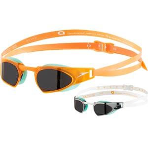 Speedo Fastskin Prime Swimming Goggles Jaffa Orange/Peppermint/Smoke