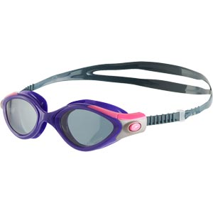 Speedo Futura Biofuse 2 Polarised Female Swimming Goggles Violet/Smoke