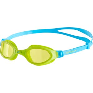 Speedo Junior Futura Plus Swimming Goggles Peppermint/Lime