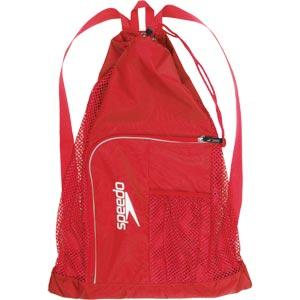 Speedo Deluxe Ventilator Mesh Bag Red
