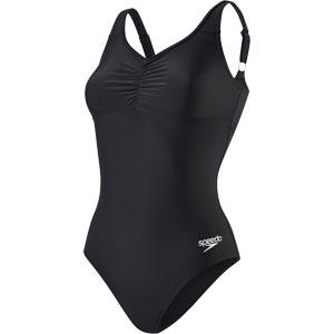 Speedo Essential Clipback Swimsuit Black