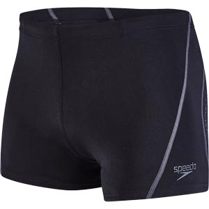 Speedo Essential Splice Aquashort Black/USA Charcoal