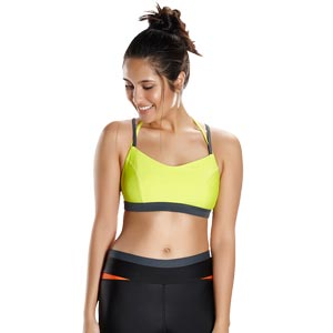 Speedo H2O Ative Ultra Fizz Crop Top