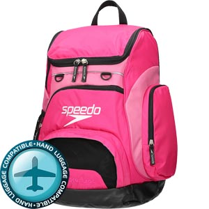 Speedo Teamster Backpack 35 Litre Pink/Black