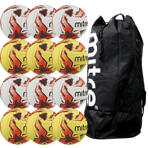 Mitre Tactic Training Football 12 Pack Assorted