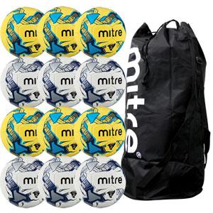Mitre Primero Training Football 12 Pack Assorted