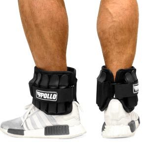 Apollo Padded Pro Adjustable Ankle Weights