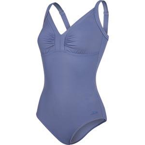 Speedo Sculpture Watergem Swimsuit Vita Grey