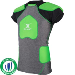 Gilbert Trilite V2 Senior Rugby Body Armour