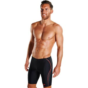 Speedo Placement Panel Jammer Black/Turquoise/Lava Red