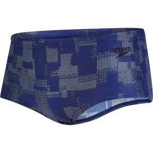 Speedo Essential Printed 14cm Brief Navy/Usa Charcoal