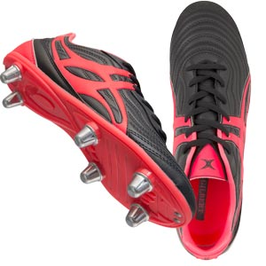 Gilbert Sidestep V1 6 Stud Low Junior Rugby Boots