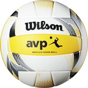 Wilson AVP II Replica Volleyball