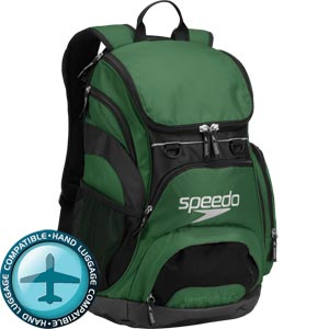 Speedo Teamster Backpack 35 Litre Forest Green/Black