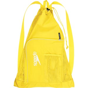 Speedo Deluxe Ventilator Mesh Bag - Yellow