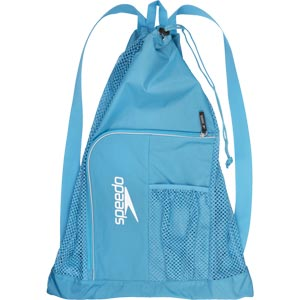 Speedo Deluxe Ventilator Mesh Bag - Sky Blue