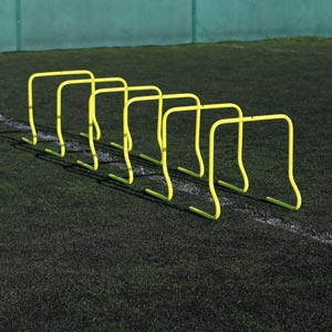 Ziland Speed Agility Training Hurdle 45cm 6 Pack