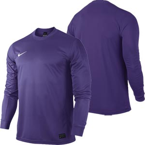 Nike Park VI Long Sleeve Senior Football Shirt Court Purple
