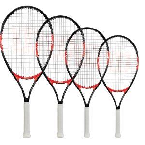 Wilson Roger Federer Junior Tennis Racket Black/Red