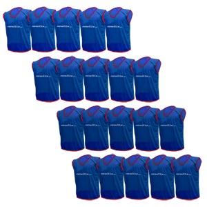 Plain Training Bibs 20 Pack  Navy
