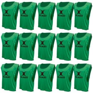 Gilbert Training Bib 15 Pack Green