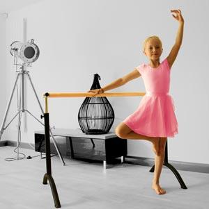 Apollo Freestanding Adjustable Ballet Barre