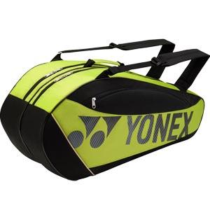 Yonex Club Series 6 Racket Bag Lime/Black