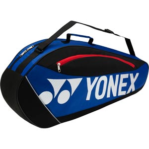 Yonex Club Series 3 Racket Bag Blue/Black