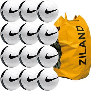 Nike Pitch Training Football 12 Pack White
