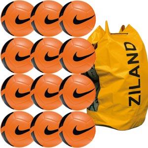 Nike Pitch Training Football 12 Pack Orange
