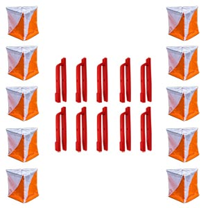 Newitts Orienteering Flag Marker 10 Pack