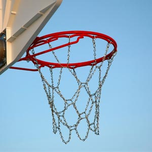 Basketball Ring And Net Set