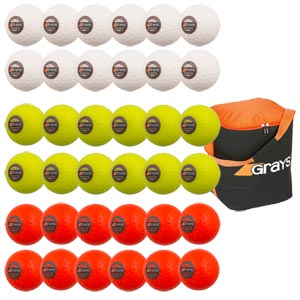 Grays Astrotec Hockey Ball 36 Pack Assorted