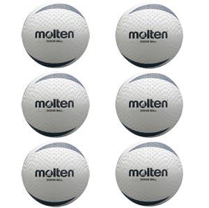 Molten Dodgeball 6 Pack