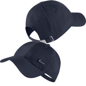1d722e17bb6 Nike Heritage 86 Metal Swoosh Cap Obsidian