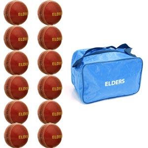 Elders Cork Champ Cricket Ball 12 Pack