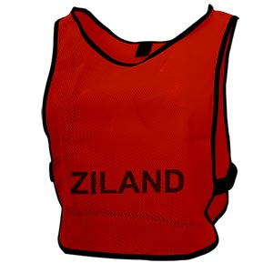 Ziland Pro Training Bib Red