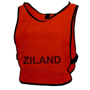 Ziland Pro Training Bib Red