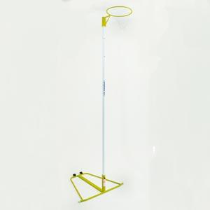 Harrod UK Wheelaway Netball Posts Yellow