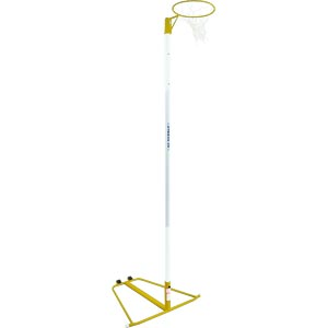 Harrod Sport Wheelaway Netball Posts Yellow