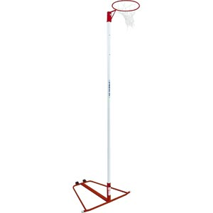 Harrod Sport Wheelaway Netball Posts Red
