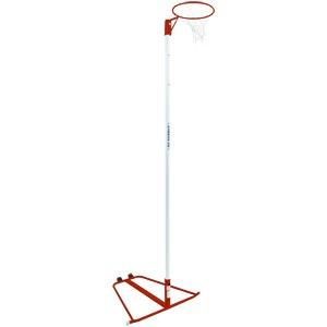 Harrod Sport Wheelaway Netball Posts Red
