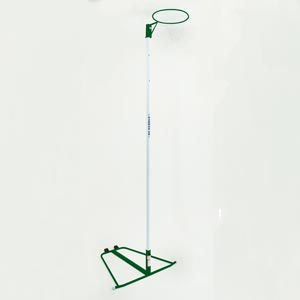 Harrod UK Wheelaway Netball Posts Green