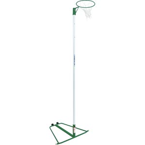 Harrod Sport Wheelaway Netball Posts Green