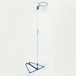 Harrod Sport Wheelaway Netball Posts Blue