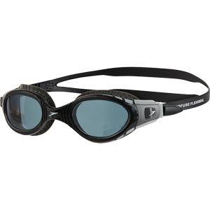Speedo Futura Biofuse Flexiseal Swimming Goggle Grey/Black/Smoke