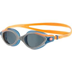 Speedo Futura Biofuse Flexiseal Triathlon Female Swimming Goggle Orange/Stellar/Smoke