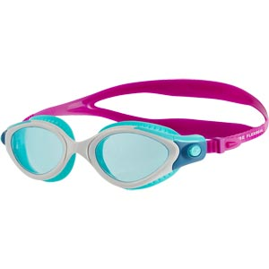 Speedo Futura Biofuse Flexiseal Female Swimming Goggles Diva/White/Peppermint